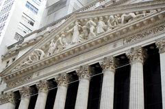 De Beurs van New York, Wall Street Stock Foto's