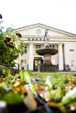 De Beurs van Oslo Bij daling royalty-vrije stock fotografie