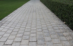 De bevloering van het granietblok royalty-vrije stock afbeeldingen