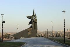 De Bevrijders van het monument van Donbass Stock Fotografie