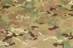 De bewapende stof van de kracht multicam camouflage royalty-vrije stock foto