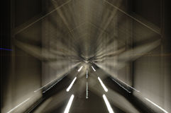 De bewegende brug Royalty-vrije Stock Afbeelding