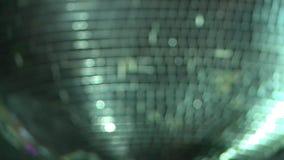 De beweging van de kant Abstracte schitterende lichten, kleurrijke achtergrond stock video