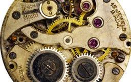 De Beweging van het horloge stock foto