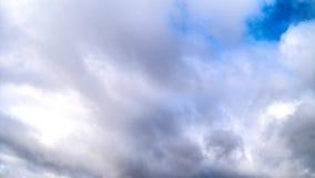 De beweging van de wolken stock video