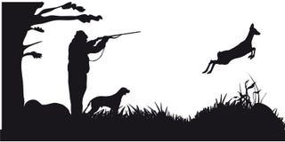De beweging veroorzakende jacht van dieren en landscapes12 Stock Afbeelding
