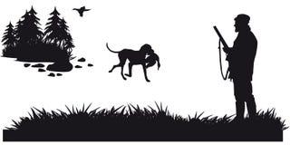 De beweging veroorzakende jacht van dieren en landscapes8 Stock Afbeeldingen