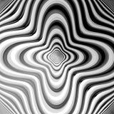 De bewegingsachtergrond van de ontwerp zwart-wit roes Royalty-vrije Stock Foto's