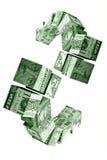 De bewegingsconcept van het geld royalty-vrije illustratie