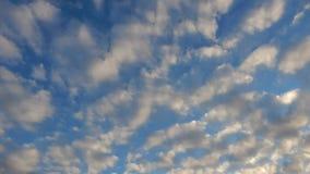 De bewolkte tijdspanne van de hemeltijd stock footage