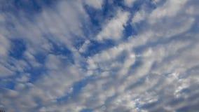 De bewolkte tijdspanne van de hemeltijd stock videobeelden