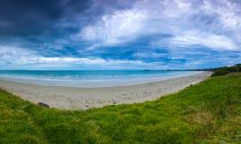 De Bewolkte Zonsondergang van Port Fairy stock foto's