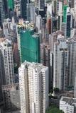 De bezige mening van Hongkong royalty-vrije stock foto