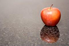 De bezinning van de appel Stock Foto