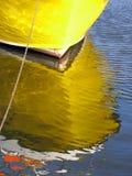 De bezinning van de boot Royalty-vrije Stock Afbeelding