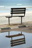 De bezinning van de stoel Stock Foto