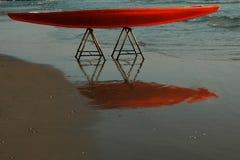 De bezinning van de surfplank Royalty-vrije Stock Foto's