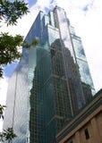De Bezinning van de toren Royalty-vrije Stock Afbeeldingen