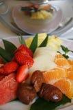 Vruchten salade Royalty-vrije Stock Foto
