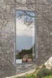 De bezinning van het venster Royalty-vrije Stock Foto's