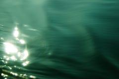 De bezinning van het water Stock Foto's
