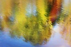 De bezinning van het water Stock Afbeelding