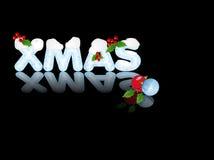 De Bezinning van Kerstmis Royalty-vrije Stock Fotografie