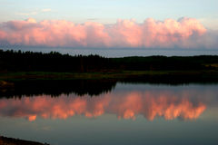 De Bezinning van Nova Scotia Royalty-vrije Stock Foto