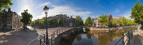De bezinningen van Amsterdam, Holland Stock Afbeelding