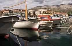 De bezinningen van de boot Royalty-vrije Stock Foto's