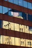 De bezinningen van de bouw Stock Foto's
