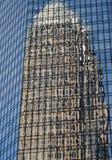 De Bezinningen van de bouw Stock Fotografie