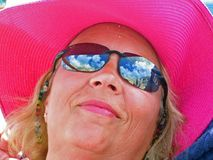 De Bezinningen van de cruise royalty-vrije stock fotografie