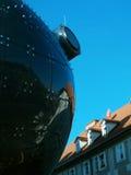 De bezinningen van Graz Stock Afbeeldingen