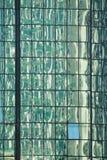 De bezinningen van het glas Stock Fotografie