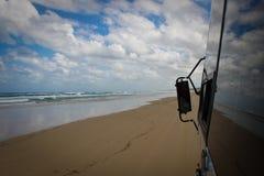 De Bezinningen van het strand Royalty-vrije Stock Afbeeldingen