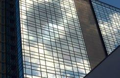 De bezinningen van het venster Stock Afbeelding