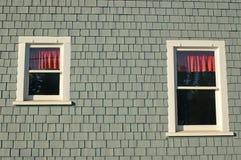 De bezinningen van het venster Royalty-vrije Stock Foto's
