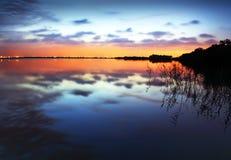 De bezinningen van het water royalty-vrije stock fotografie