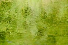 De bezinningen van het water Royalty-vrije Stock Afbeeldingen
