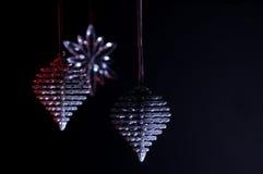 De Bezinningen van Kerstmis Stock Fotografie