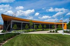 """De Bibliotheek †""""Vinton, Virginia, de V.S. van de Roanokeprovincie Royalty-vrije Stock Afbeelding"""