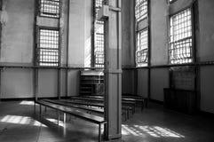 De bibliotheek in Alcatraz Royalty-vrije Stock Fotografie
