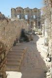 De Bibliotheek & de Ruïnes van Ephesus Royalty-vrije Stock Foto