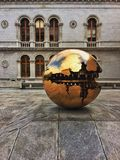 De Bibliotheek Dublin Ireland van de drievuldigheidsuniversiteit Stock Foto's