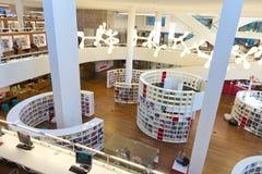 De Bibliotheek van Amsterdam stock afbeeldingen