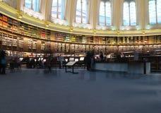 De Bibliotheek van British Museum Stock Foto