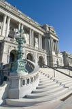 De bibliotheek van Congres Stock Foto
