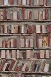De bibliotheek van de baksteen Royalty-vrije Stock Foto's