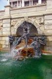 De Bibliotheek van de fontein van Congres Stock Foto